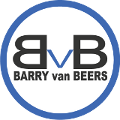 Logo Barry van Beers