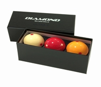 Diamond billiard balls